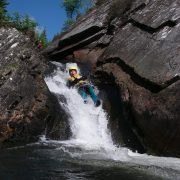 Water Slide: Canyoning