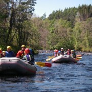 active White Water Rafting