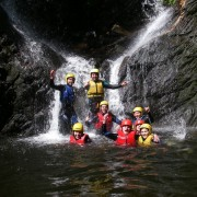 Canyoning in Scotland