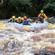 White Water Rafting With Active Outdoor Pursuits