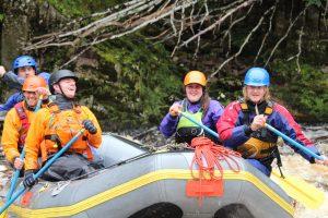 Raft Training River Findhorn