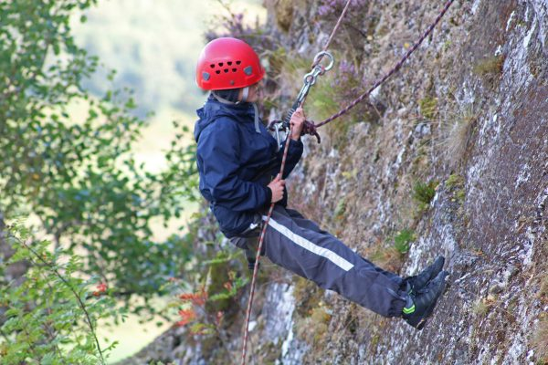 climbing & abseiling in Aviemore & the Cairngorms