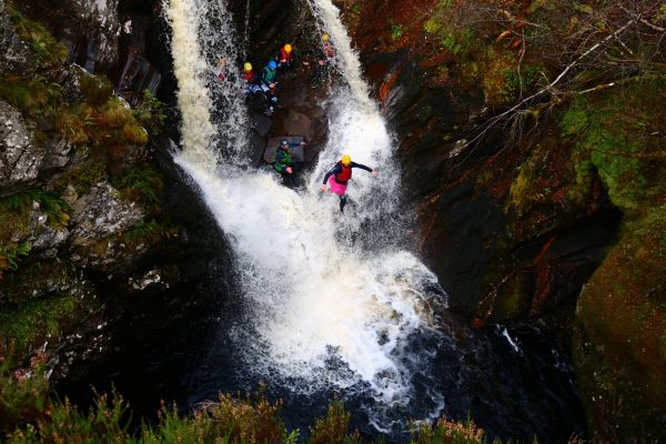 armed forces canyoning