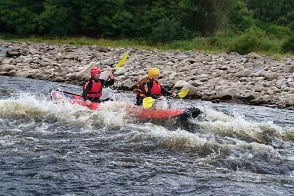 Active Outdoor Pursuits Ducky Trip River Spey