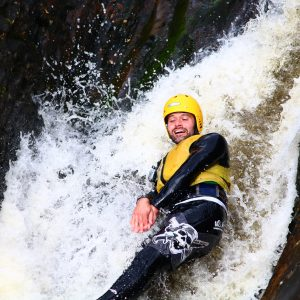 Canyoning in Aviemore adventurous days out in sotland