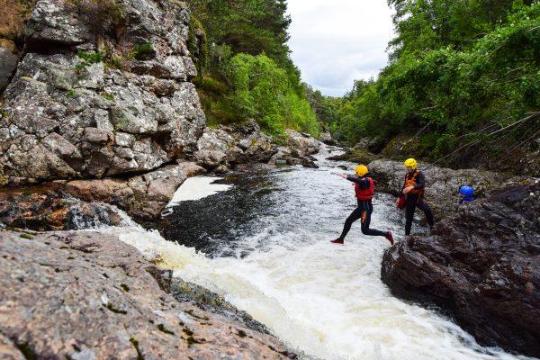 Active Outdoor Pursuits Gorge Scramble Truim Falls