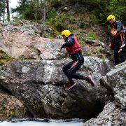 Active Outdoor Pursuits Gorge Scramble Truim Falls Jump
