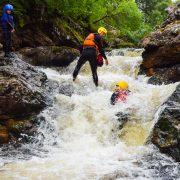 Active Outdoor Pursuits Gorge Scrambling Truim Falls Slide