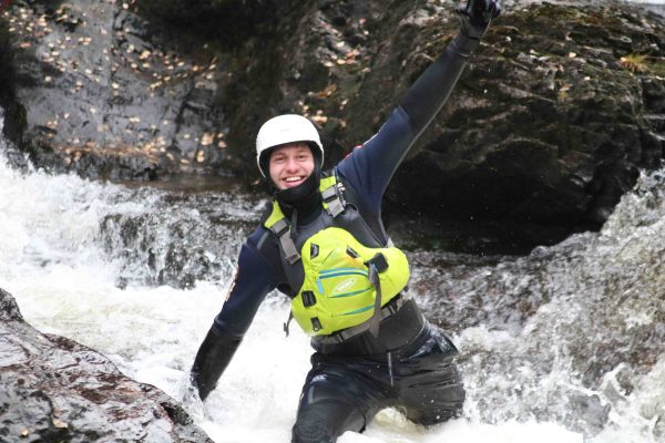 Happy Canyoning in Scotland
