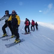 Active Outdoor Pursuits Ski Mountaineering Group Shot