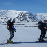 Active Outdoor Pursuits Ski Mountaineering in Scotland