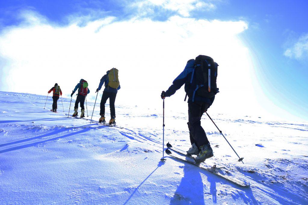 ski touring in Fort William