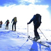 Active Outdoor Pursuits Ski Touring Mountain