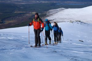 Active Outdoor Pursuits Ski Touring Mountain Trip
