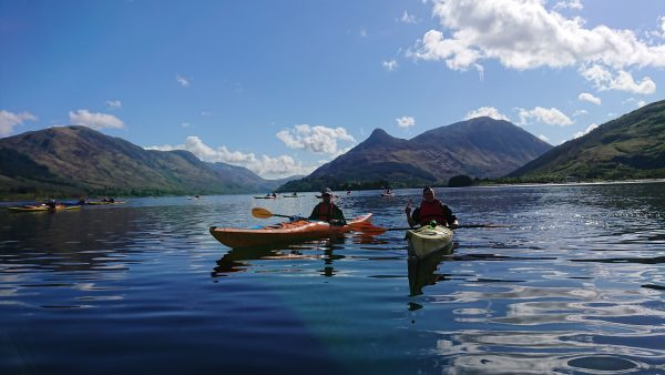 Gold DofE sea kayaking expediitons training, practice and qualifier