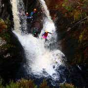Active Outdoor Pursuits Waterfall Jump