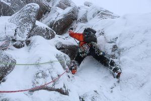 Active Outdoor Pursuits Winter Climbing