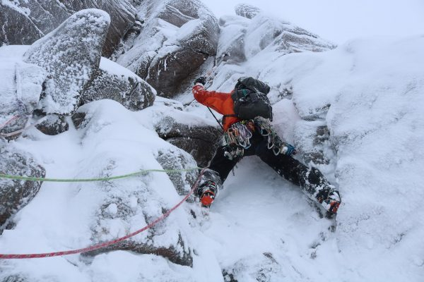 Active Outdoor Pursuits Winter Climbing