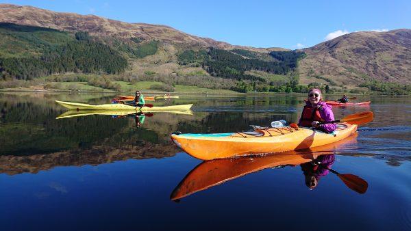 Sea kayaking Scotland & Moray Firth