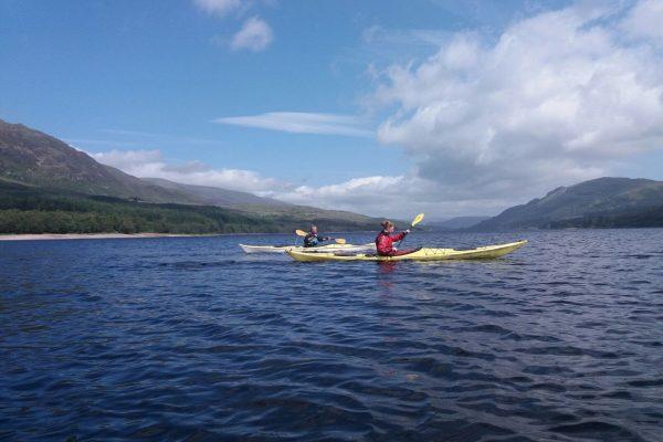 Sea Kayak Skills Day, Loch Laggan