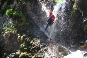 Waterfall Abseil: Canyoning
