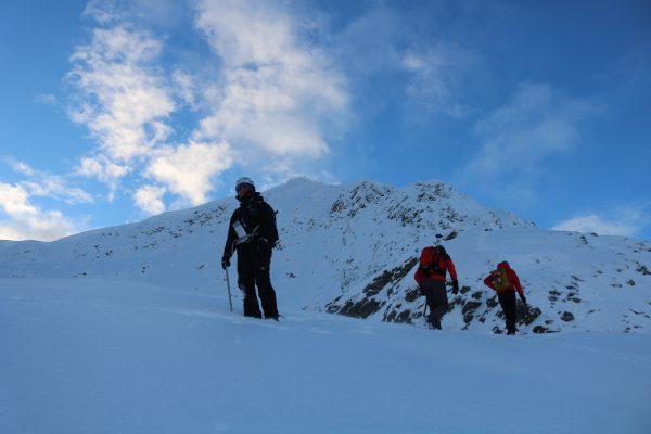 Winter skills group