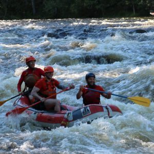 mini rafting