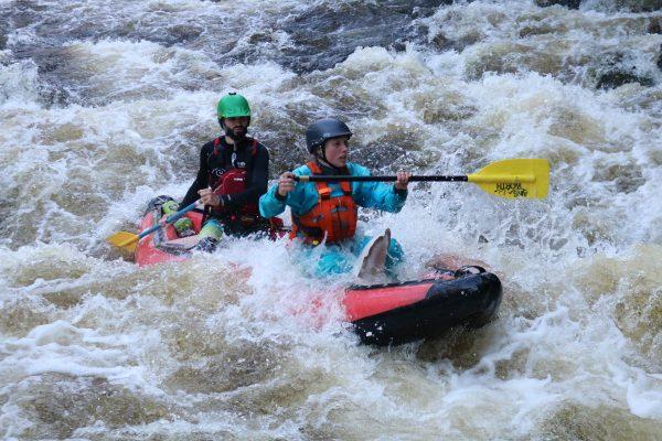 duckies rafting in cairngorms