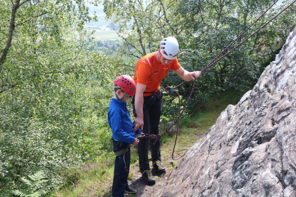 rock climbing & abseiling in scotland