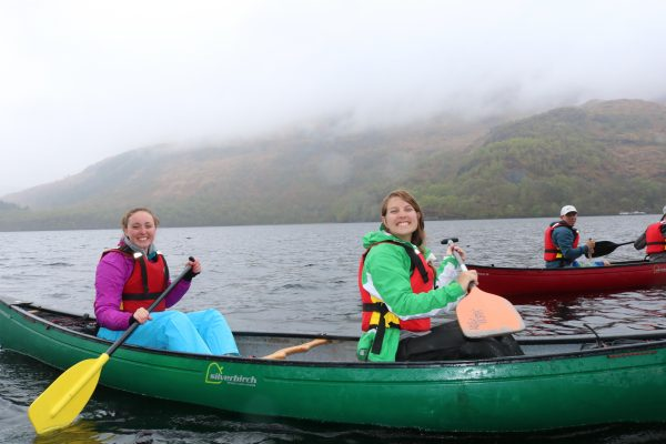 canoeing in the cairngorms