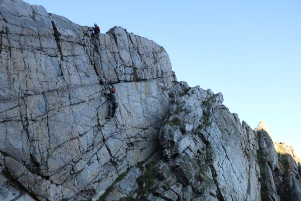 rock climbing & abseiling in cairngorms