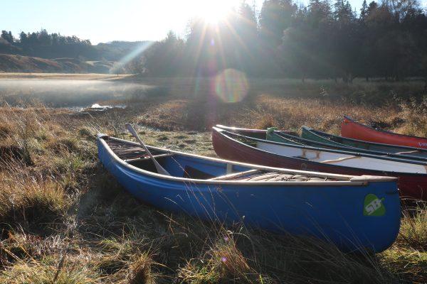Canoeing in scotland