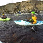 Kayaking on the Findhorn