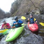 Kayaking on the Roy