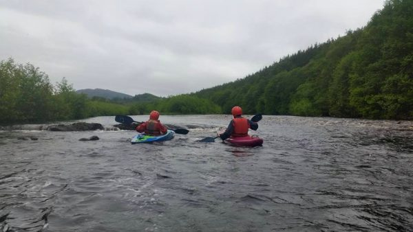 Active Kayaking - River Spey