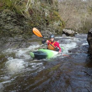 white water kayak award assessment