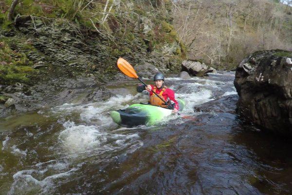 Kayaking on the Roy