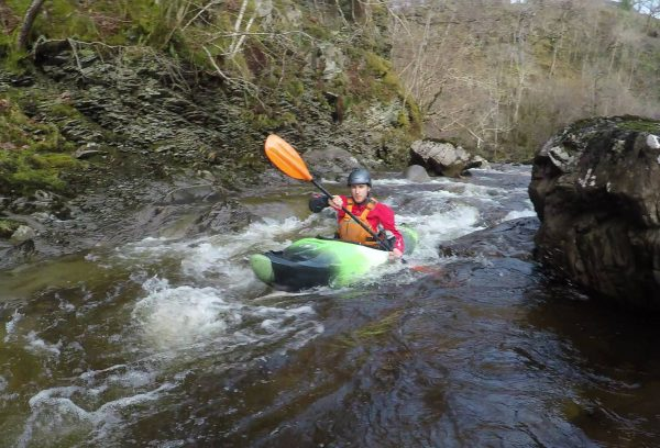white water kayak award assessment