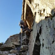 Active Rock Climbing and Abseil- Kingussie Crag