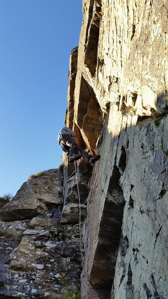 Active Rock Climbing - Kingussie Crag