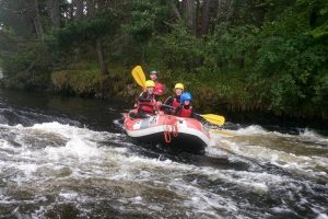 Mini Rafting on River Spey