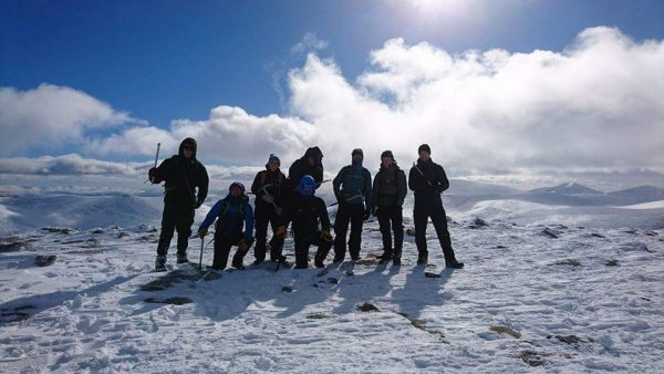 B2 boots, crampons & ice axe rental in Aviemore
