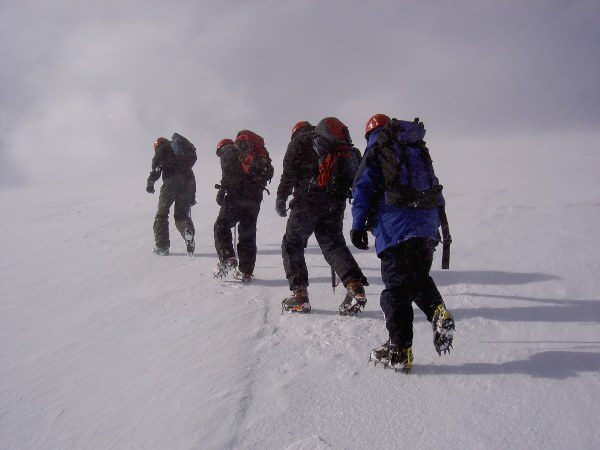 Winter Skills training courses in aviemore, the cairngorms & scotland