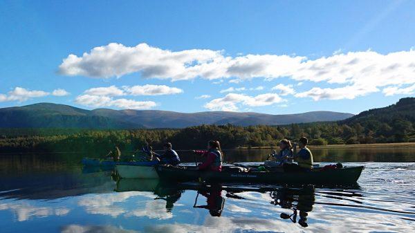 adventure activity day scotland canoe & bike