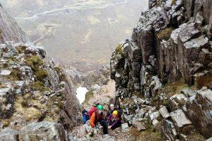 Active Mountain Scrambling