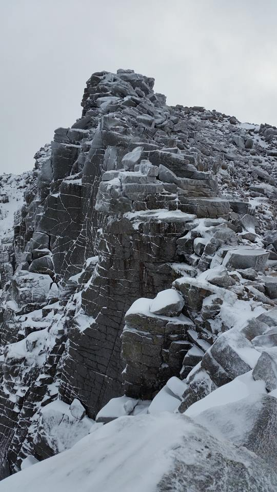 Active Winter Climbing