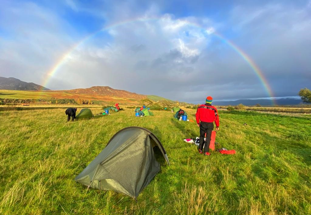 Outdoor Instructor training course rainbow