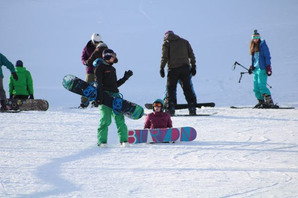 snowsports lessons scotland