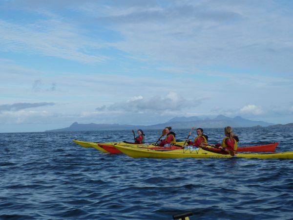 Loch Shiel to Isle of Skye Sea kayaking