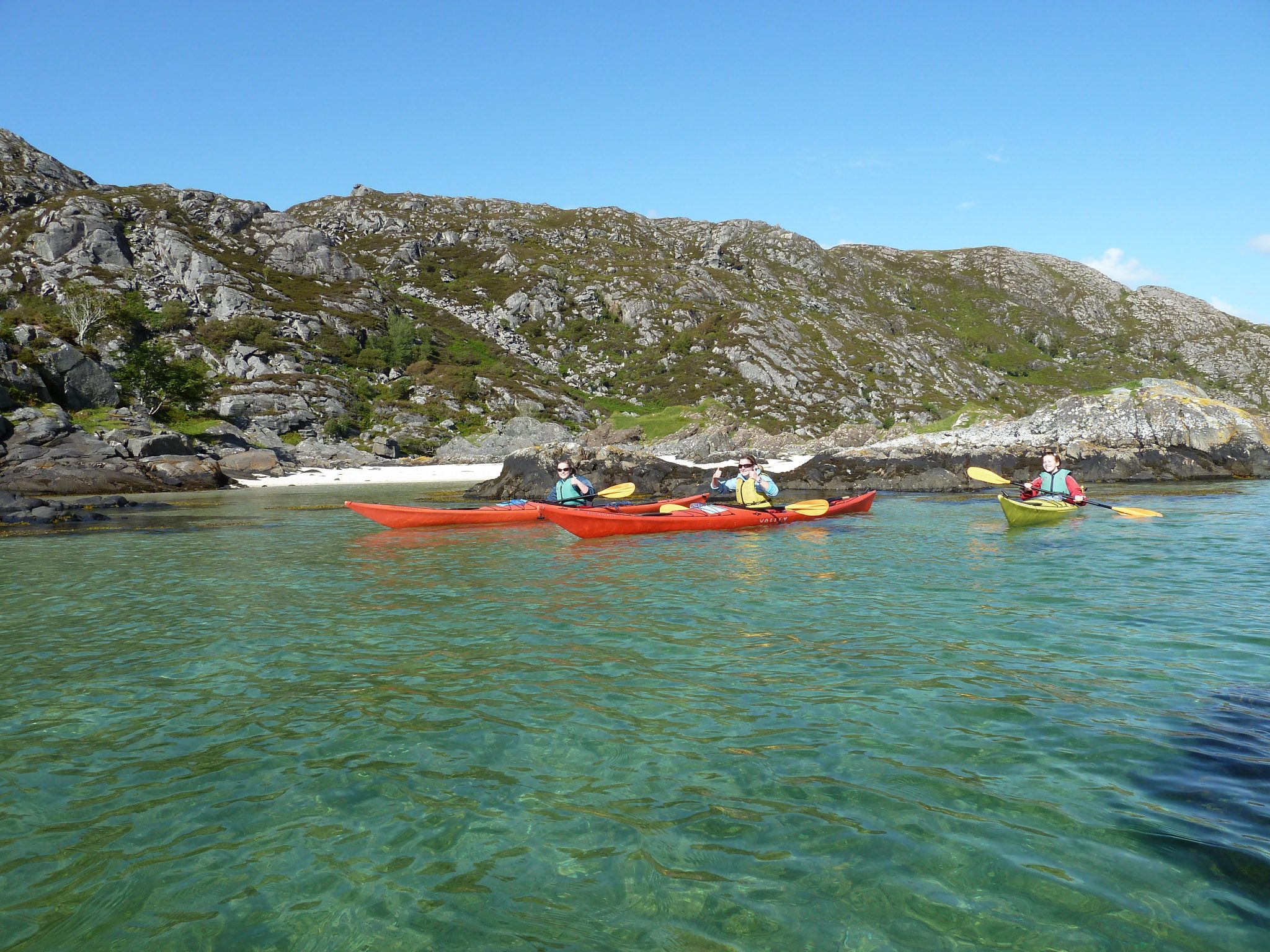 Sea Kayaking Jobs Winter